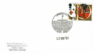 12-NOVEMBER-1991-CHRISTMAS-COVER-BUCKINGHAM-PALACE-PROFILE-SHS