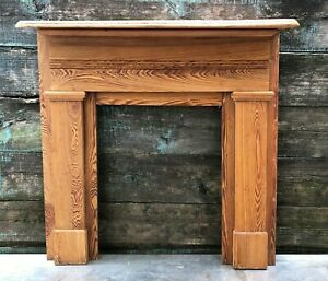 New Orleans Arts And Crafts Mantle Reclaimed Antique Fireplace
