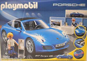 PLAYMOBIL-5991-Porsche-911-Targa-4S-avec-figurines-neuf-et-emballage-d-039-origine