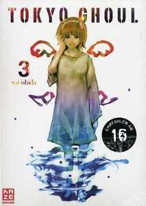 Tokyo Ghoul 3-allemand-le Vent Se-manga-produit Neuf --afficher Le Titre D'origine