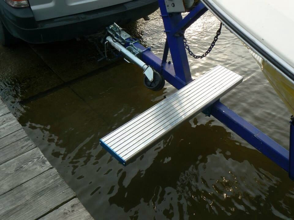 Launch and Walk Boat Access System