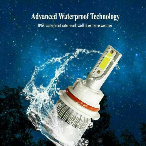 COB 9007 HB5 Led headlight bulb kit 1320W 198000LM High//low beam 6000K white HID