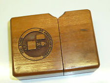"""VINTAGE ZIPPO LIGHTER - FULL WOOD WRAPPED - """"AN AMERICAN CLASSIC"""" - 1996 - RARE"""
