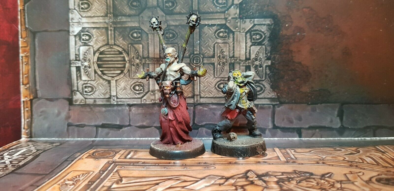Renegade Rogue Psykers painted rare Warhammer 40k Chaos Space Marines cultist