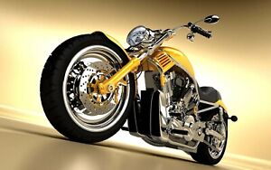 Details About Us Er Vintage Motorcycle Motor Poster Living Room Decor