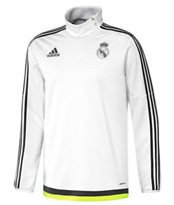 adidas Real Madrid Players 2015 - 2016 Adult Training Zip Tops - S - 98c007a1d