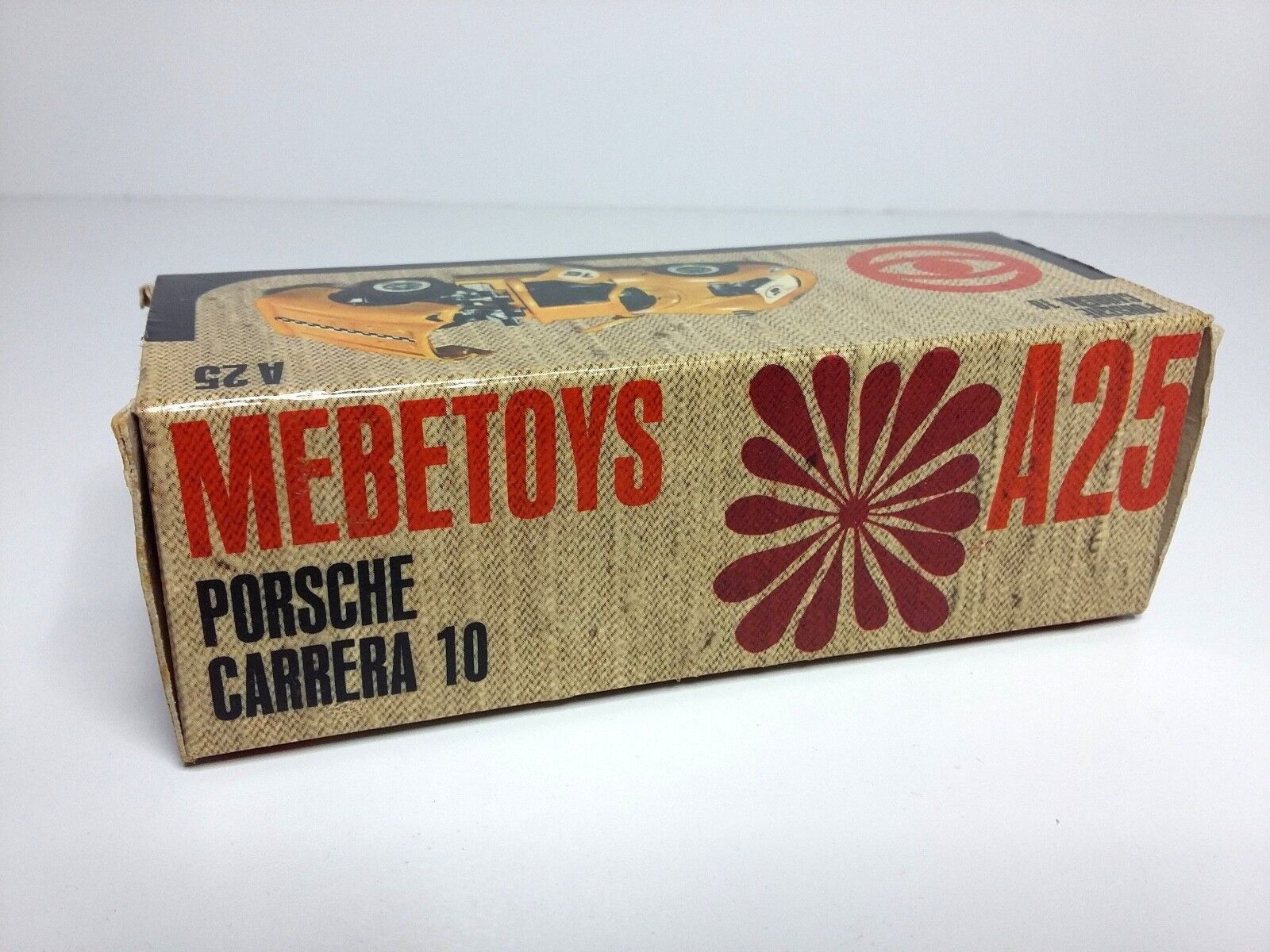 1 43 MEBETOYS A25 PORSCHE CARRERA 10 ONLY BOX