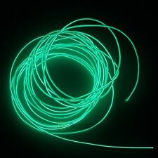 15ft Neon LED Light Glow EL Wire String Strip Rope Tube Car Party + Controller