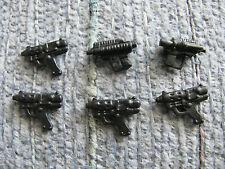 "Star Wars HASBRO SCOUT BIKER (6) Pistol Gun Mixed Lot For 3.75"" Figure"