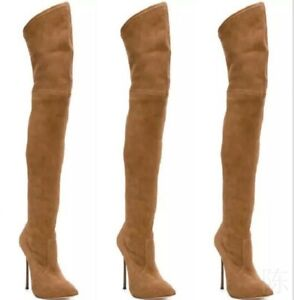 Women-Over-The-Knee-Thigh-Skinny-Boots-Stretch-High-Heel-Nightclub-Stiletto-Club