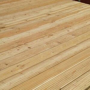 Terrassendielen Sibirische Larche 27x145mm Terrassenholz I Wahl
