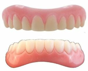 Large Instant Smile Veneer Set Uppers and Lowers 2 extra bags of fitting beads 685646840625