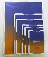 JMS Clip Frames Ideal for Photo Picture Choice of sizes,6 Sizes, Glass & Plastic