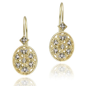 Gold-over-Silver-Diamond-Filigree-Leverback-Earrings