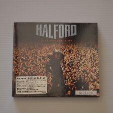 (JUDAS PRIEST) HALFORD - Live insurrection - 2001 JAPAN 2CDs FIRST PRESS SEALED!