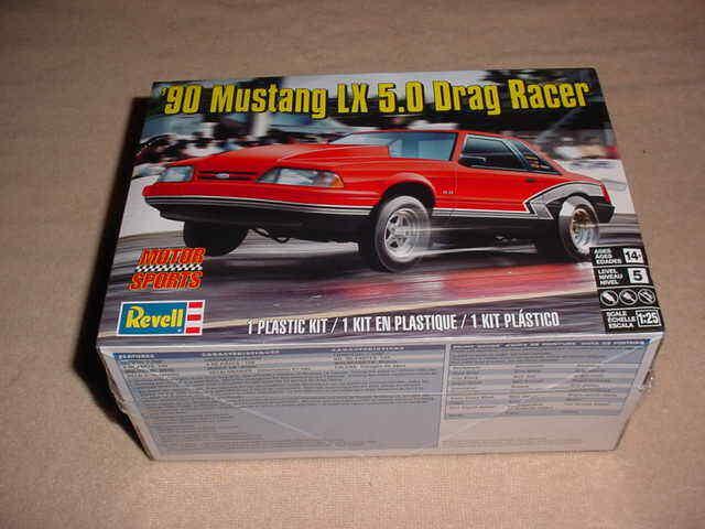 Revell 4195 90 Mustang LX 5.0 Drag Racer model kit