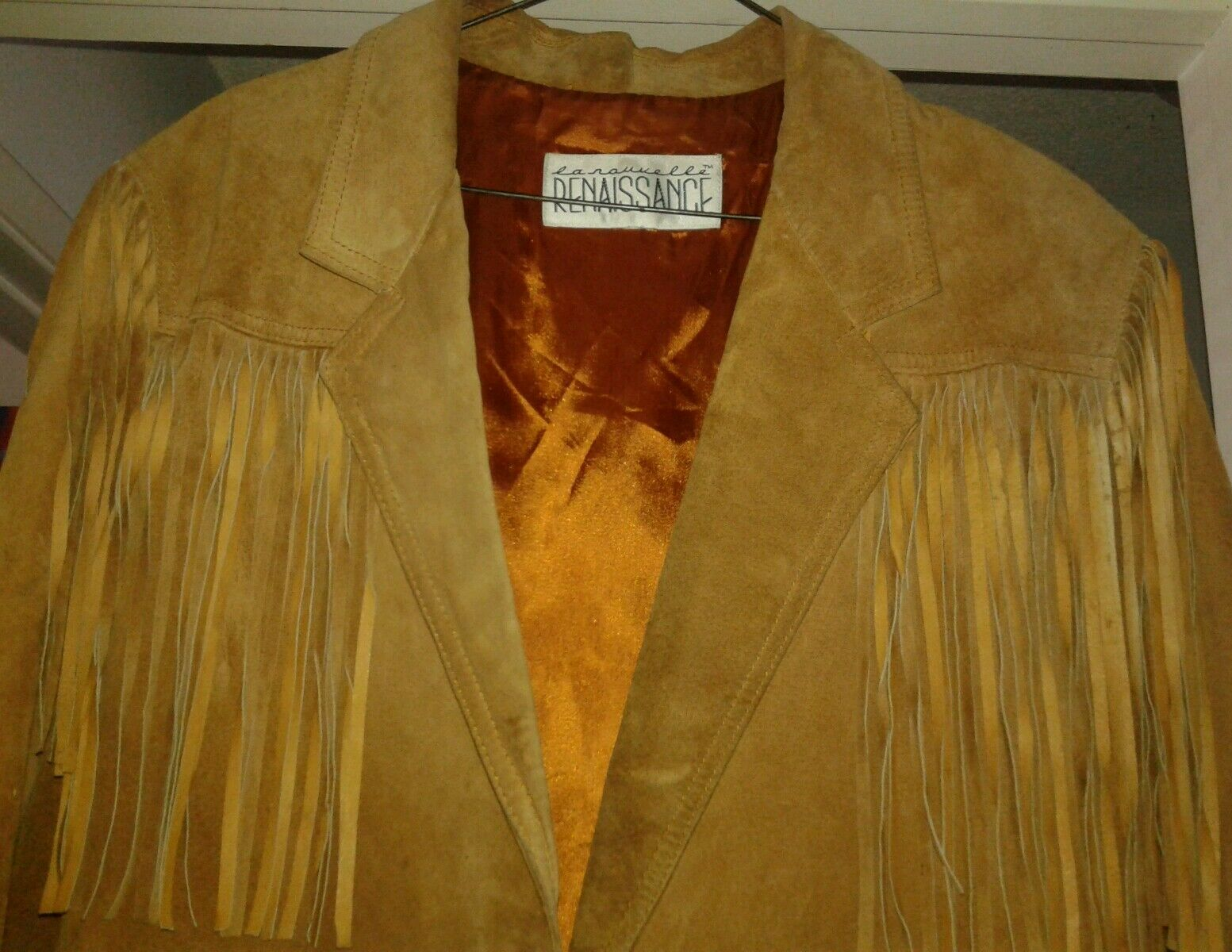la nauicelle Renaissance Leather fringed Jacket - image 2