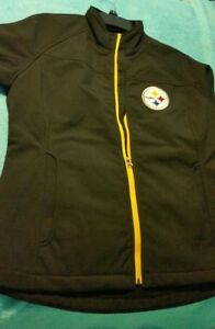 7945d9a24 NFL Pittsburgh Steelers Womens Soft Shell Jacket with Tag of  79.99 ...