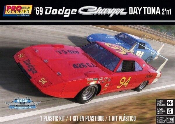 Charger Daytona For Sale >> Revell Monogram 4413 1969 Dodge Charger Daytona 2 N 1 Plastic Model Kit 1 25