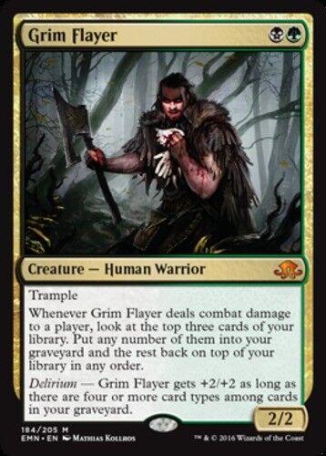 Grim Flayer x1 Eldritch Moon Near Mint 1x English -BFG- MTG Magic