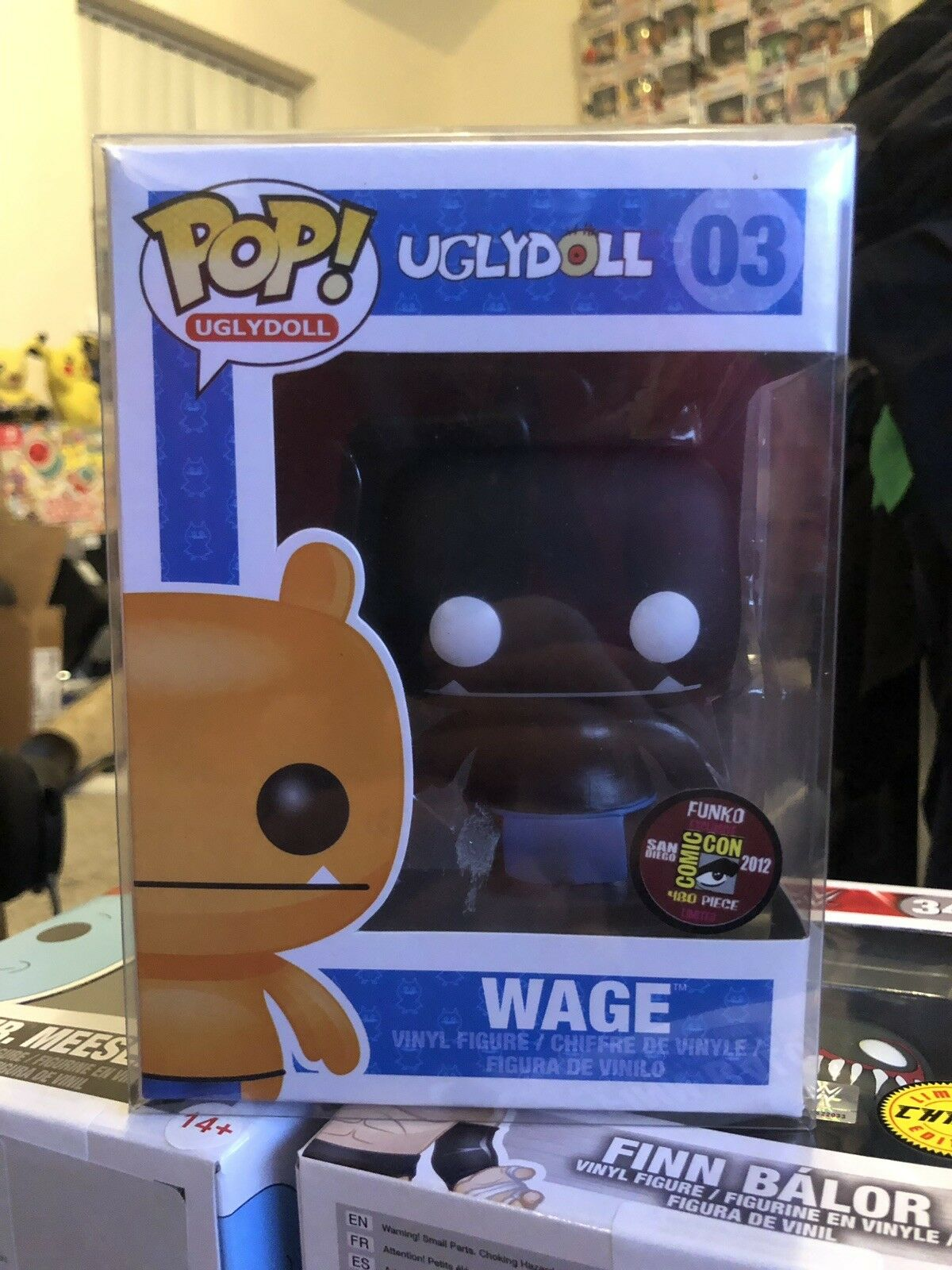 Ugly Doll Wage Exclusive SDCC