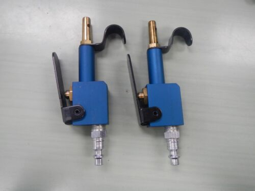 Pneumatic Lever-operated Compressed Air Blow Guns -Blue Lot of 2 Made in USA
