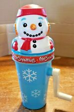 Vintage Mr Snowman Sno Cone Maker Hand Crank