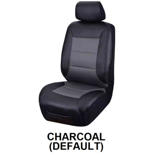 SINGLE WATER RESISTANT LEATHER LOOK SEAT COVER FOR NISSAN NAVARA NP300