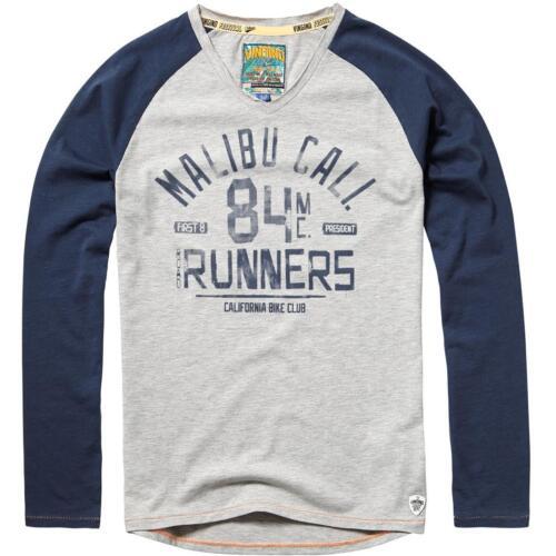 VINGINO Manica Lunga-Shirt//CAMICA jahno Grey mele NUOVO!! MEGA COOL!! riduce