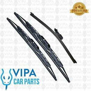Toyota-Avensis-T250-Estate-MAR-2003-to-DEC-2009-Windscreen-Wiper-Blades-Set