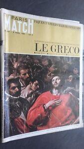 Revista París Match N º 887 Abril 1966 El Pintor El Más Dorf El Greco