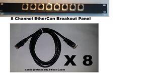 8-Channel-RJ45-to-EtherCon-Breakout-Panel-w-8-NEUTRIK-NE8FDP-Pass-through-Jacks