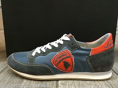 Automobili Lamborghini Mens Shoes Sneakers Trainers LAM2001 - New In Box