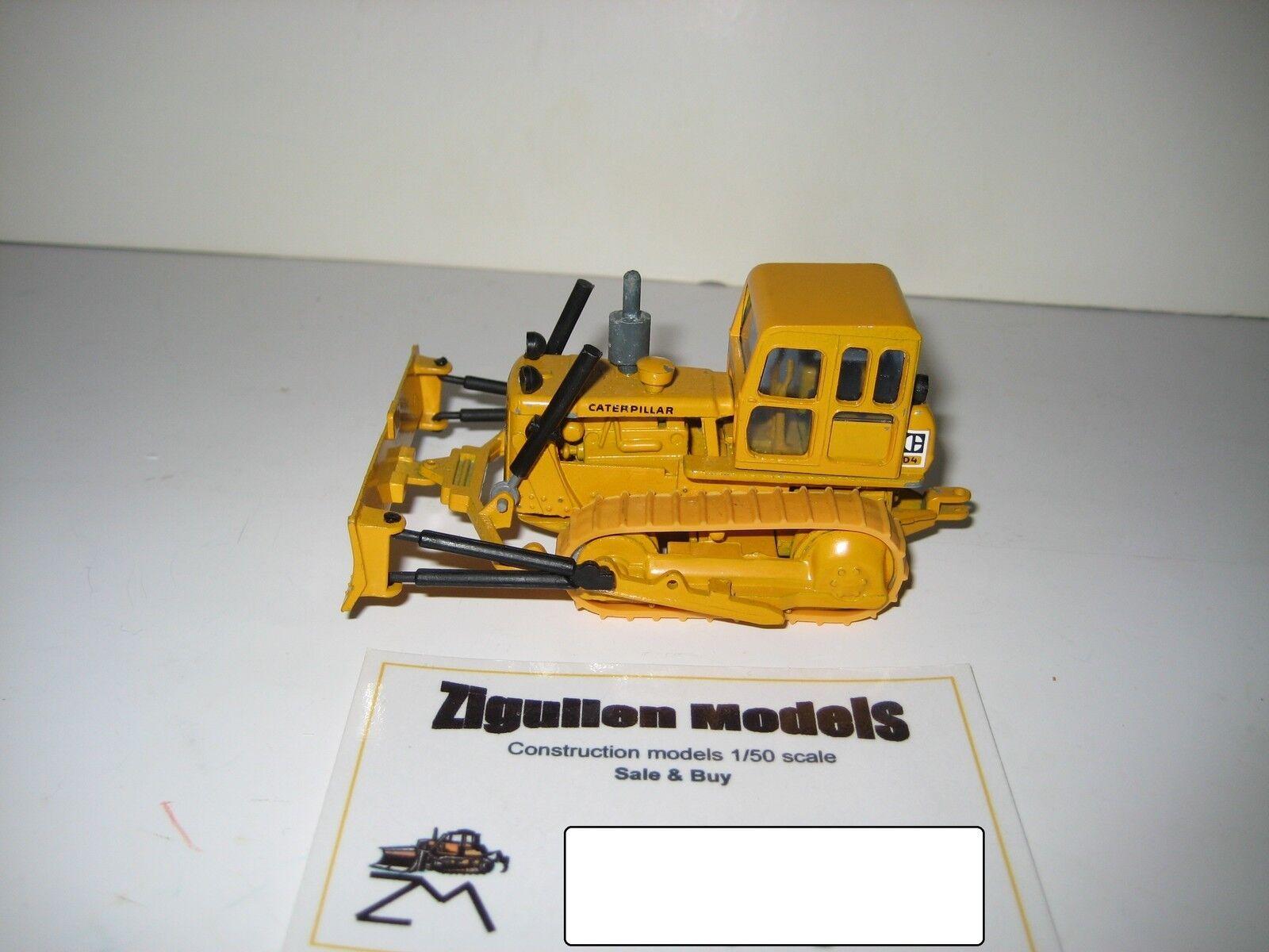 Caterpillar D 4 Bouteur PacMan logo avec avec avec Timon  119.4b NZG 1 50 728058