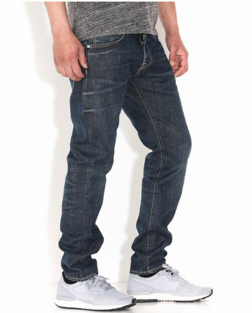 JEANS EDWIN HOMME ED55 REGULAR TAPERED (granite-mid load wash) W29 L32 VAL
