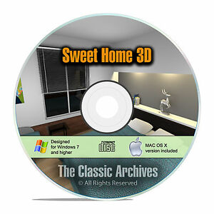 Sweet Home 3d Interior Design House Architect Software Kitchen Bathroom Cad F15 741533273065 Ebay