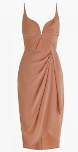 tangerine very uk asymmetric drapes mdf alice lavish draped dress prd midi co woven standard