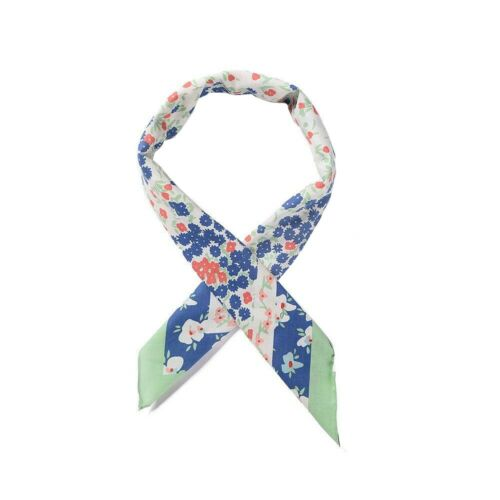 Intrigue Womens//Ladies Floral Print Square Scarf JW901