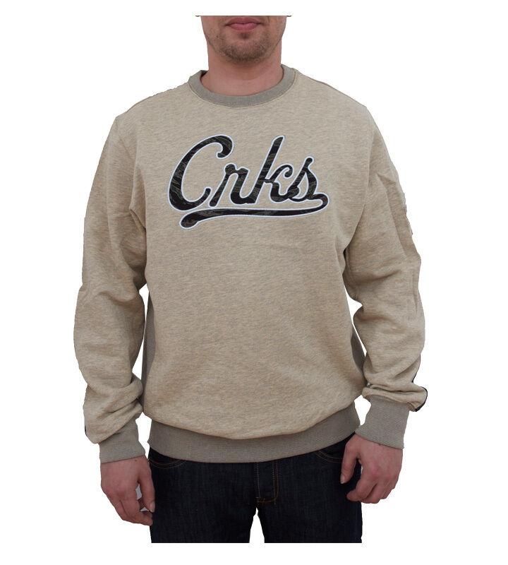 Crooks & & Crooks Castle Camo Crew 91c824