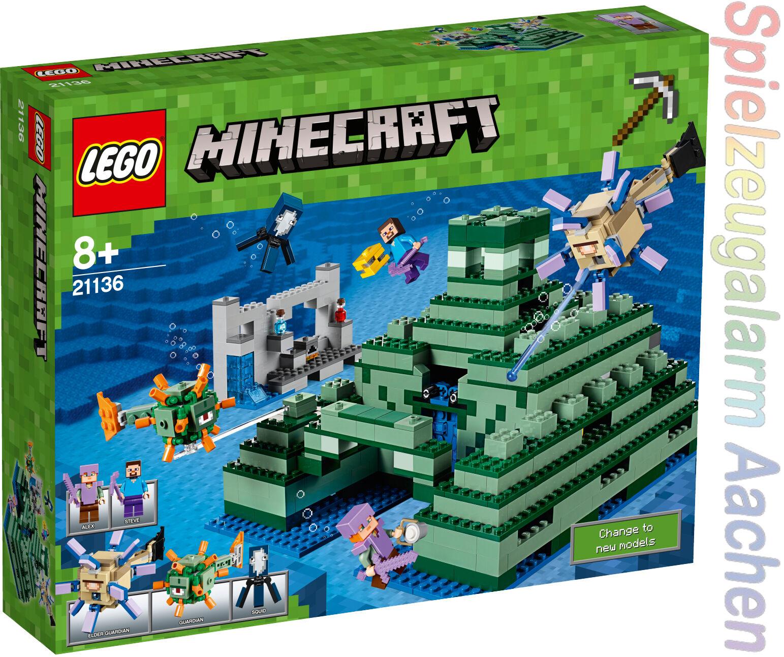 LEGO 21136 Minecraft Ozeanmonument Monumento oceánico Monument sous-marin N9 17