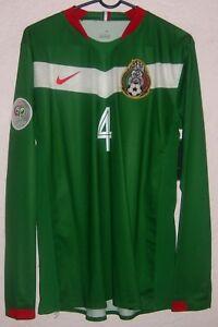 8738513e7 NWT Mexico Nike World Cup 2006 Rafael Marquez Player Issue Home ...