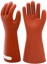 Electrical Insulated Rubber Gloves Electrician 12kv High Voltage Safety Work For