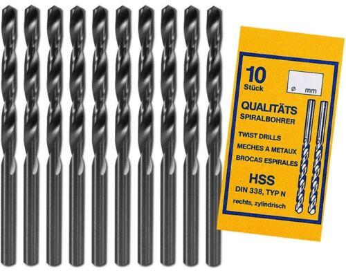 3x HSS09 BOHRER Ø 0,9 mm HSS