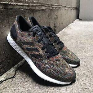 d9047b207 NEW Adidas PureBOOST DPR LTD Limited Mens Running Shoes Black Multi ...