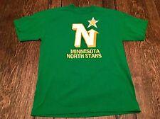 MINNESOTA NORTH STARS mens M medium green shirt NHL retro hockey wild modano WOW