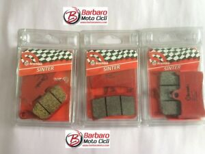 Kit-Brake-Pads-Brembo-Series-Red-Synthesized-Yamaha-09-MT09-2015