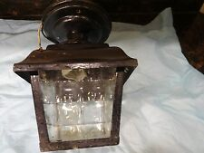 Antique Copper Outdoor Light Fixture