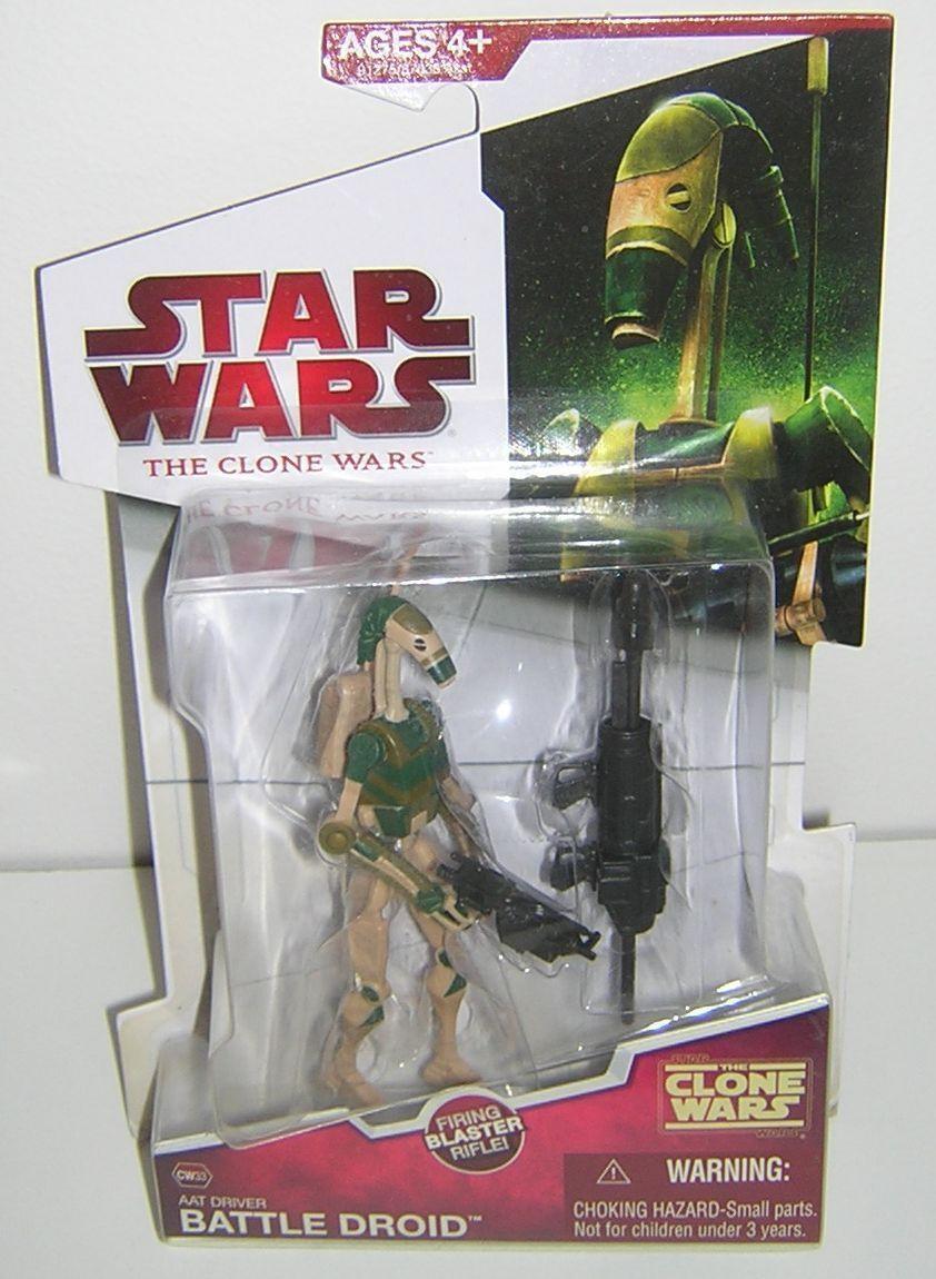 Star - wars - klon kriege cw33 aat fahrer kampf - droiden