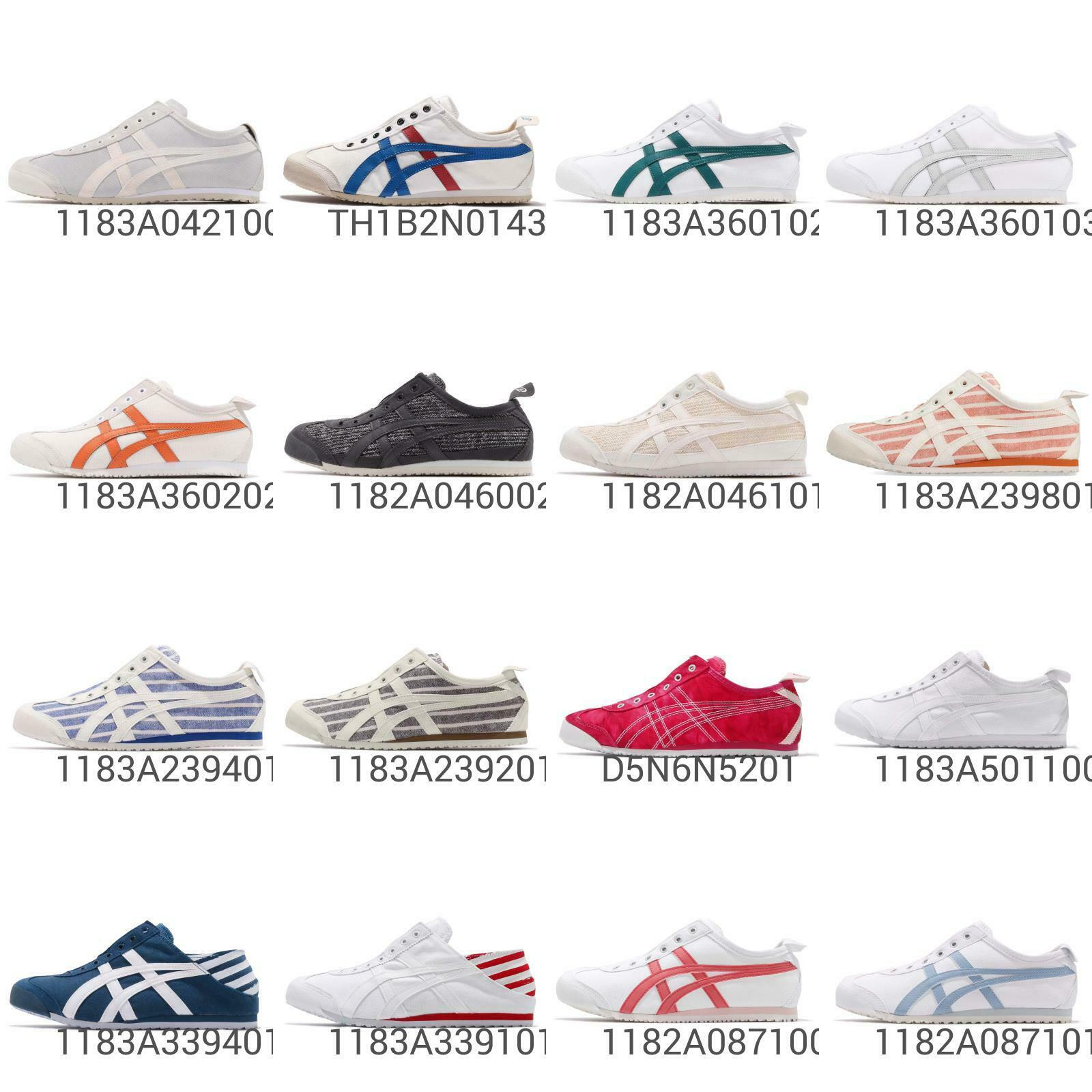 Asics Onitsuka Tiger Mexico 66 Men mujer Slip On   Paraty Vintage zapatos Pick 1