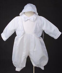Christening Gown/Christeni<wbr/>ng Boy/Baptism White
